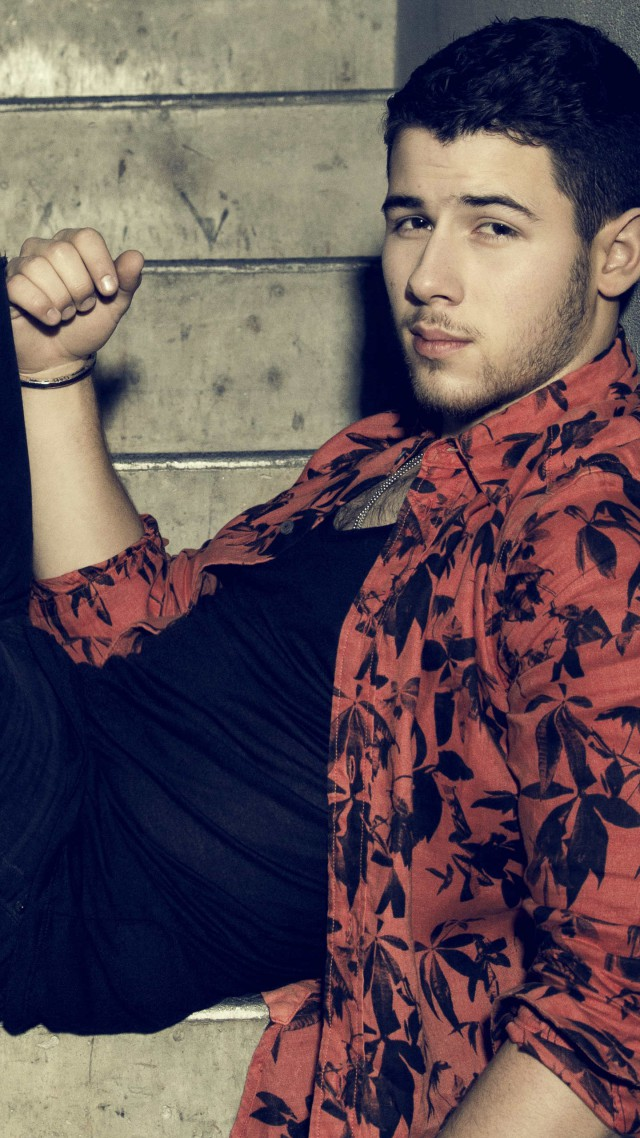 ... Nick Jonas, Top music artist and bands, singer, actor (vertical)