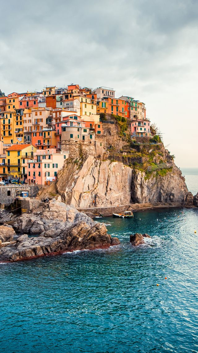 Wallpaper Manarola Italy Tourism Travel Architecture 4646