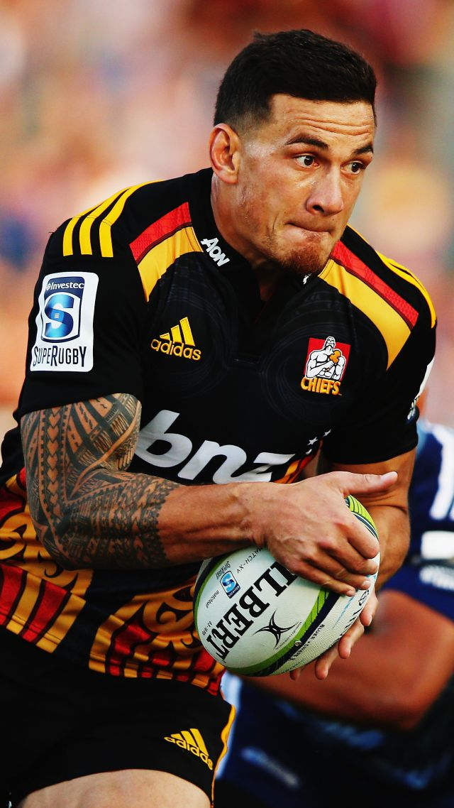 Sonny Bill Williams Best Rugby Players New Zealand Vertical