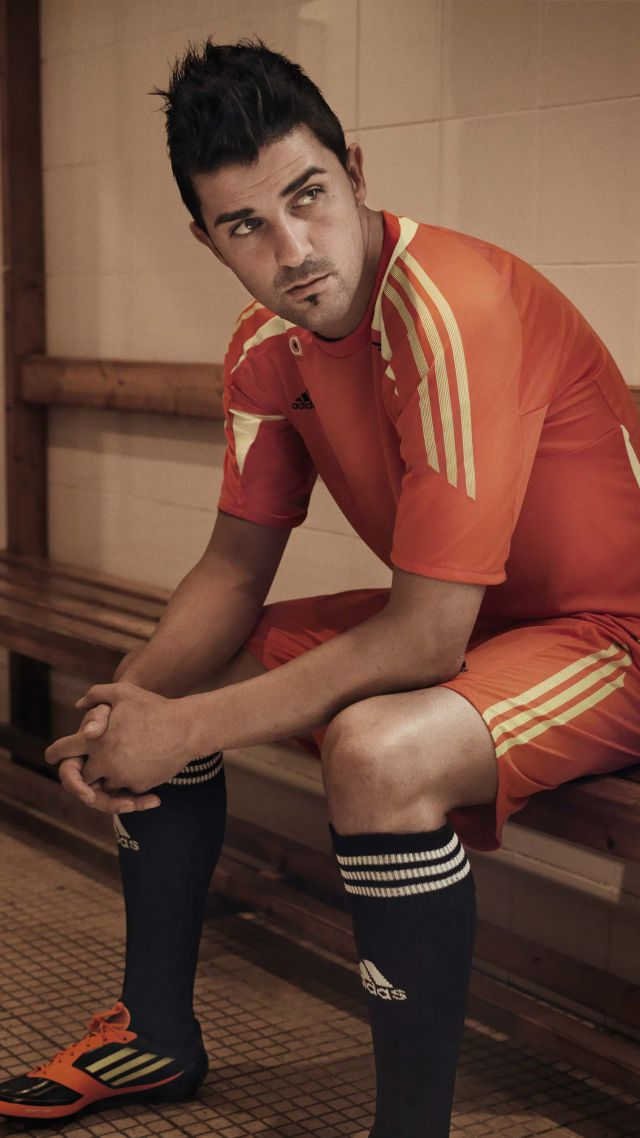 Football, David Villa, The best football players, New York City (vertical)
