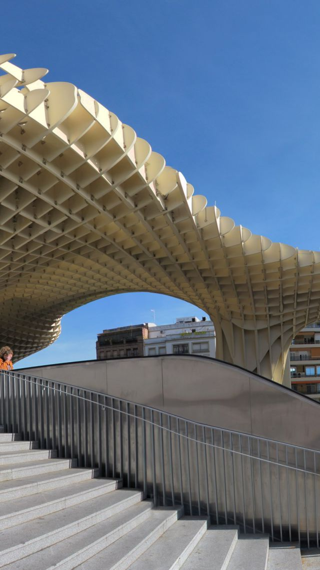 Metropol Parasol, Spain, Best hotels, tourism, travel, resort, booking, vacation (vertical)