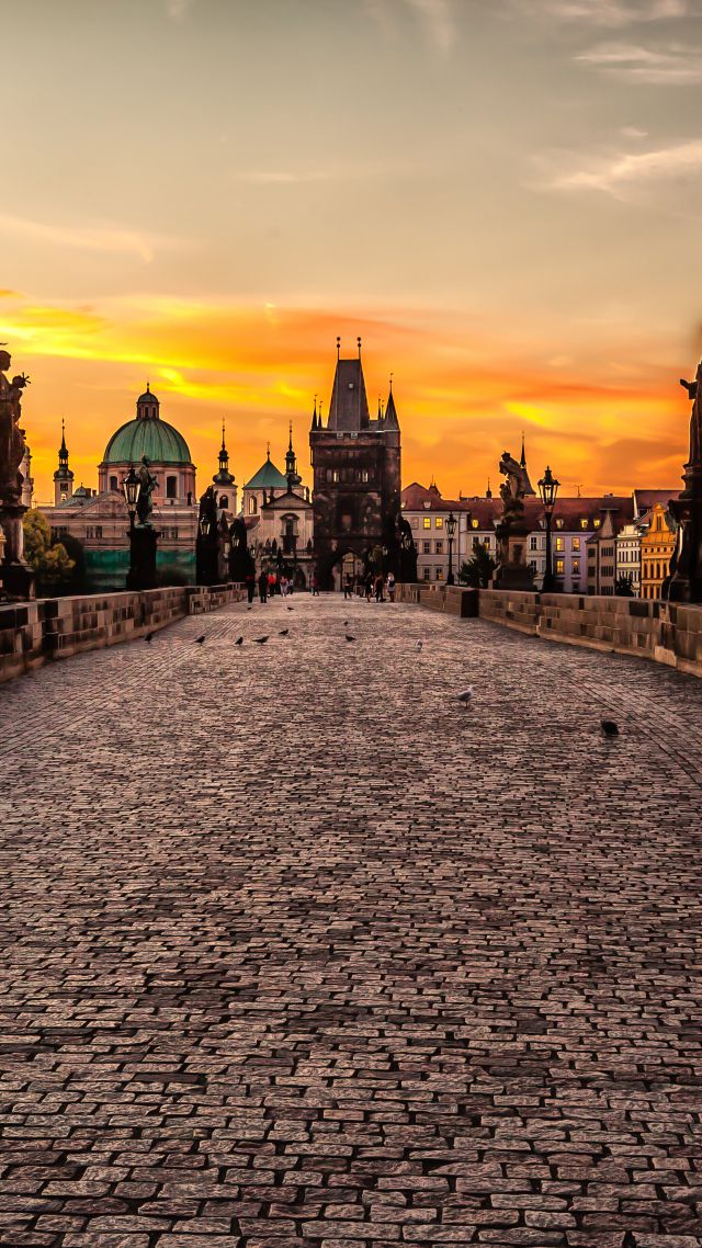 Wallpaper Mystic Prague Tour Czech Republic Tourism