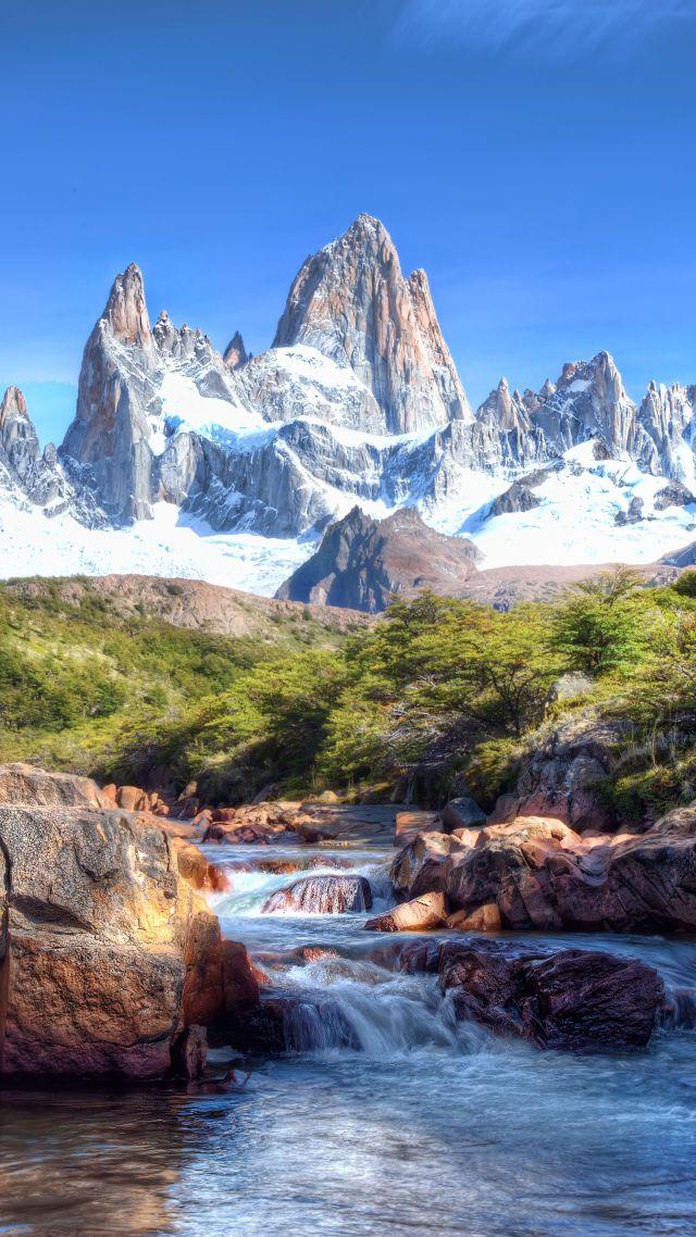 Wallpaper caucasus mountains 4k 5k wallpaper lake - Nature wallpaper 4k phone ...