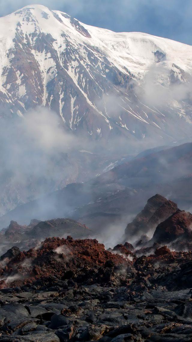 kamchatka volcano iphone