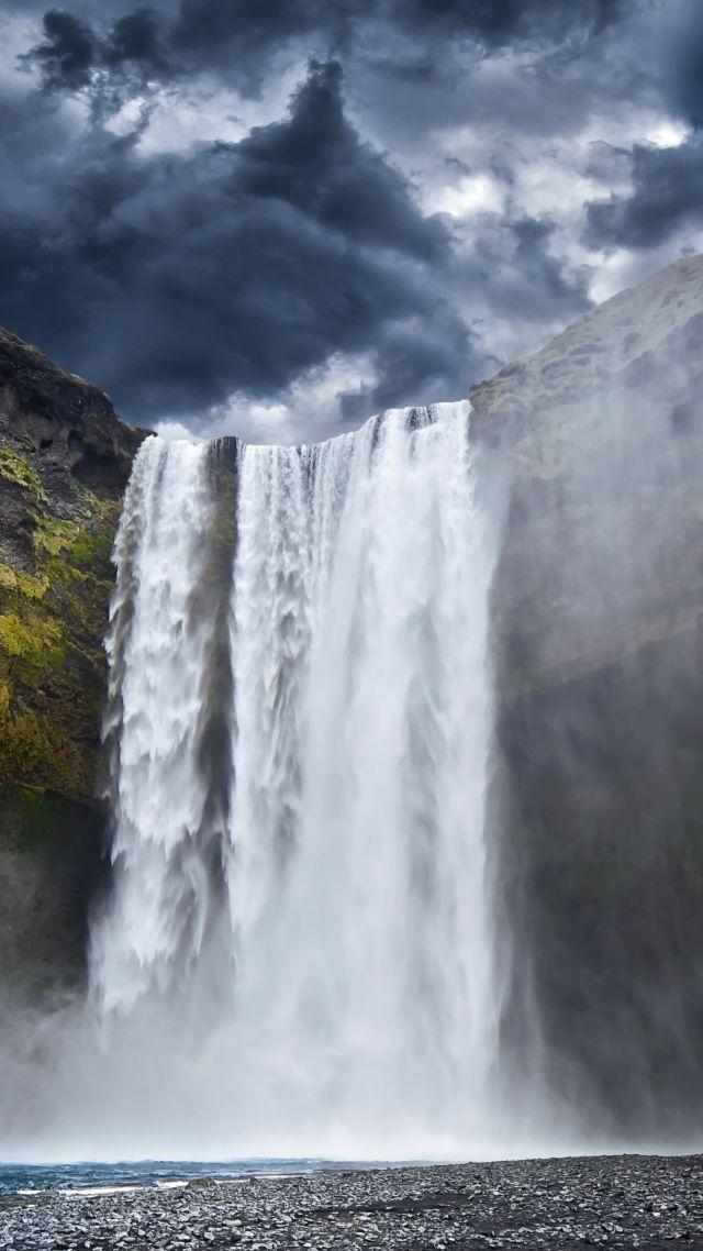 Wallpaper Yosemite 5k 4k Wallpaper 8k Waterfall Hills Clouds