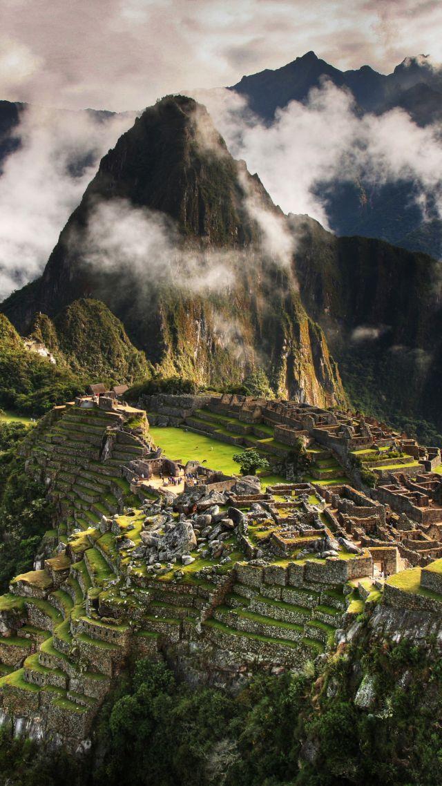 Wallpaper Machu Picchu 5k 4k Wallpaper Peru Mountains