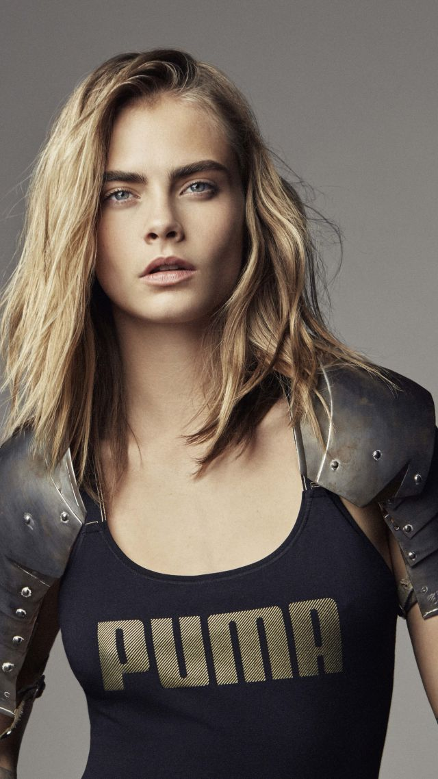 Cara Delevingne, Top Fashion Models, model, blonde (vertical)