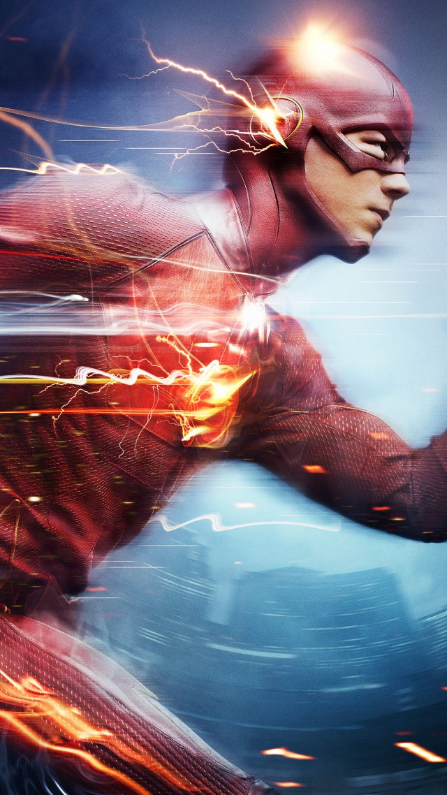 The Flash, Best TV Series of 2015, Grant Gustin (vertical)