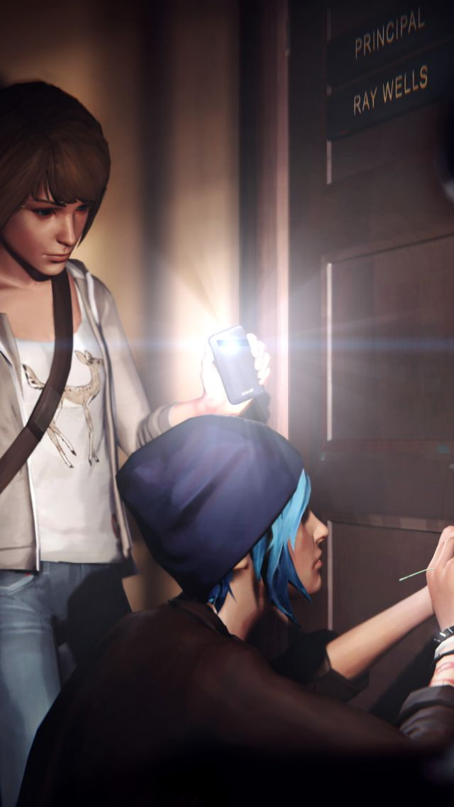 Life is Strange: Episode 3 — Chaos theory, Best Games 2015, game, quest, sci-fi, PC (vertical)