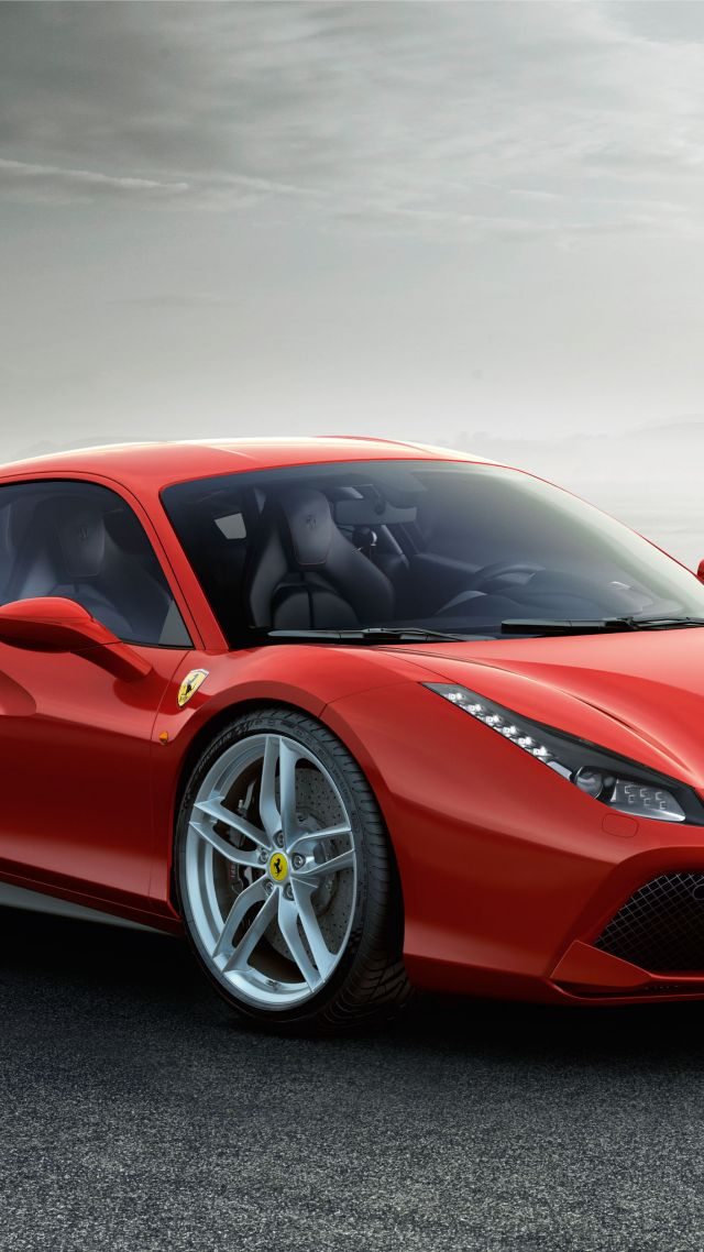 Wallpaper Ferrari 488 Gtb Coupe Supercar Red Cars Bikes 5876