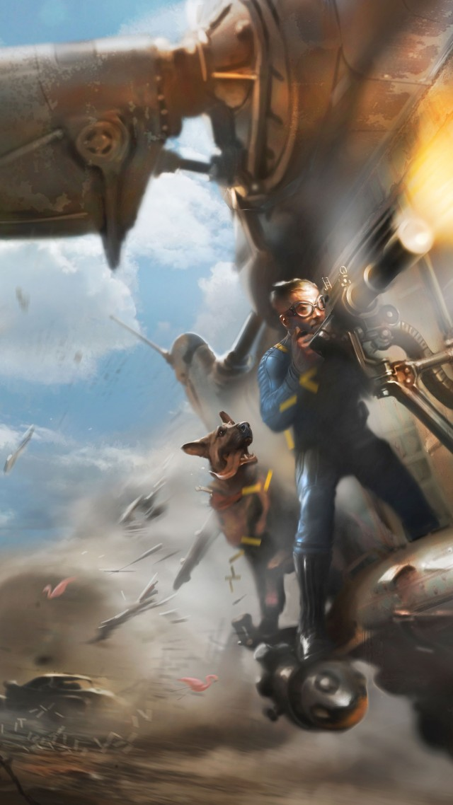 Fallout 4, Best Games 2015, game, shooter, PC, PS4, Xbox One, review, screenshot, concept art (vertical)