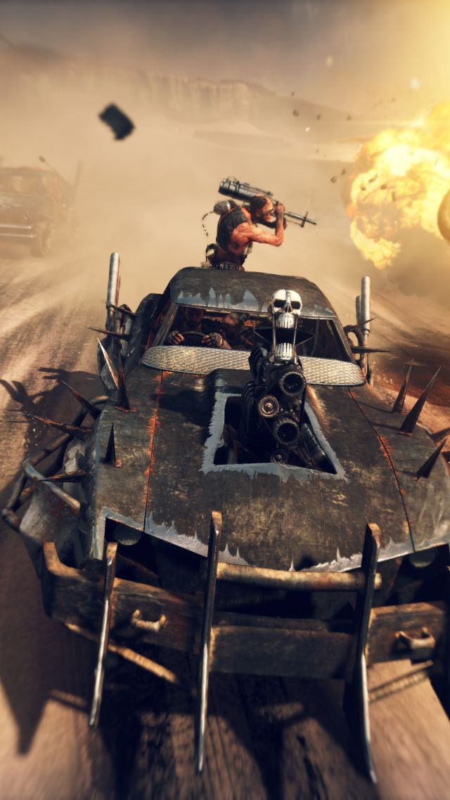 Mad Max, Best Games 2015, game, shooter, PC, PS4, Xbox One (vertical)