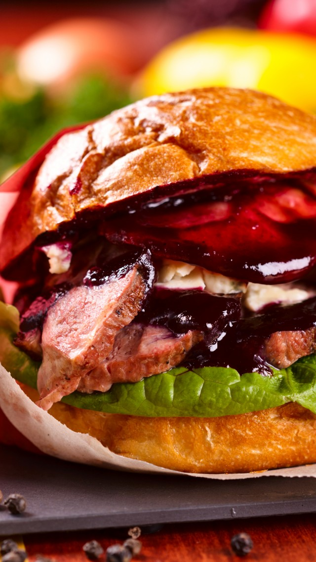 wallpaper burger fast food bun onion sesame saous