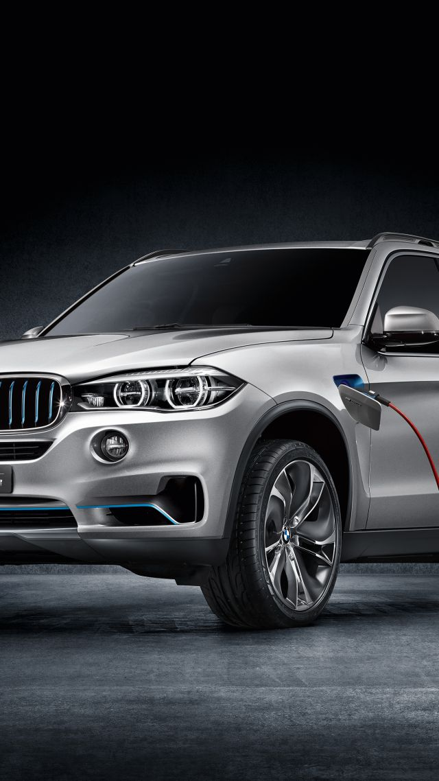 Old Classic Cars >> Wallpaper BMW X5 xDrive40e, concept, SUV EfficientDynamic, hybrid, silver, Cars & Bikes #6398