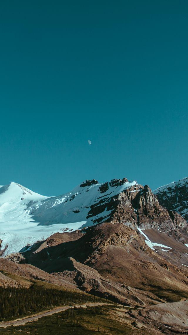Wallpaper canada 4k 5k wallpaper mountains sky night - Night mountain wallpaper 4k ...