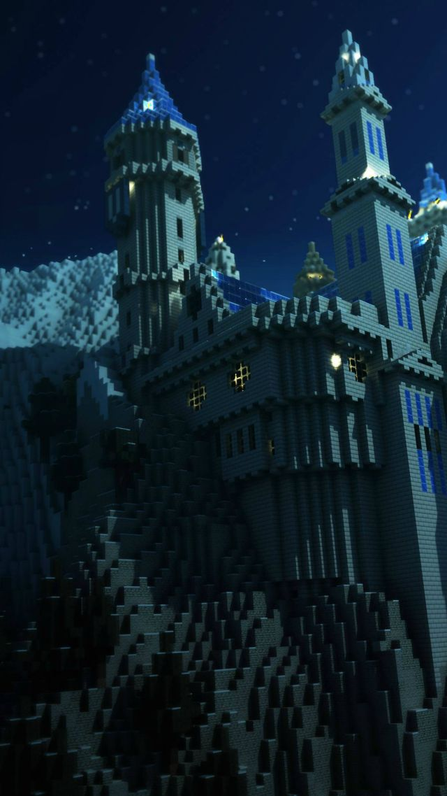 Minecraft, Best Games 2015, game, arcade, fairy tale, castle (vertical)