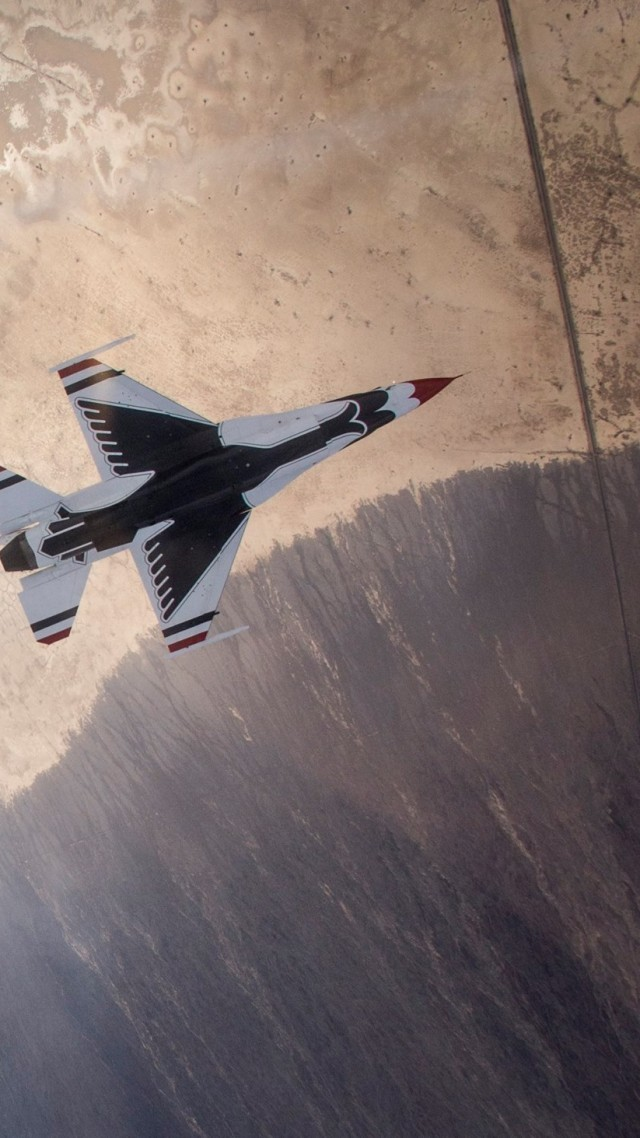 F-16, Fighting Falcon, US Army, U.S. Air Force, General Dynamics (vertical)