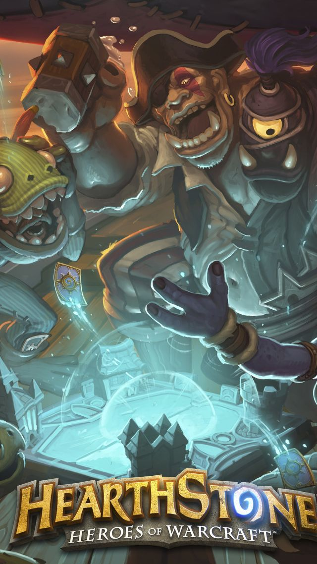 HearthStone: Heroes of Warcraft — The Grand Tournament, Best Games 2015, game, fantasy, PC, Apple, Android (vertical)