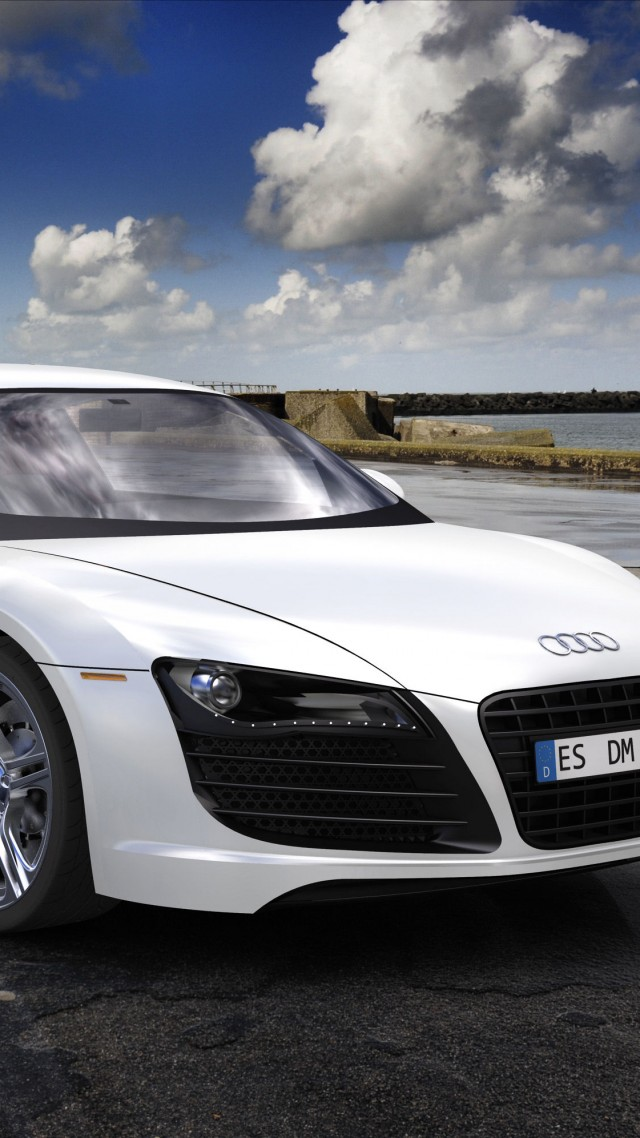 Audi R8, sport car, coupe, review, buy, rent, test drive (vertical)