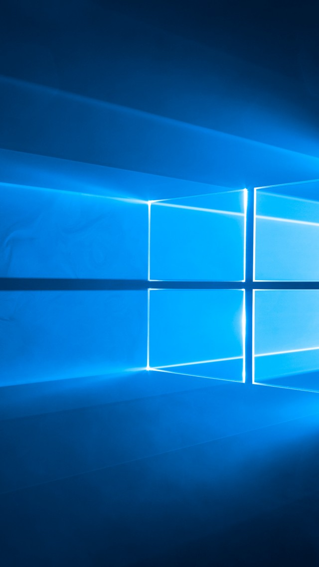 Windows 10 4k 5k Wallpaper Microsoft Blue Vertical