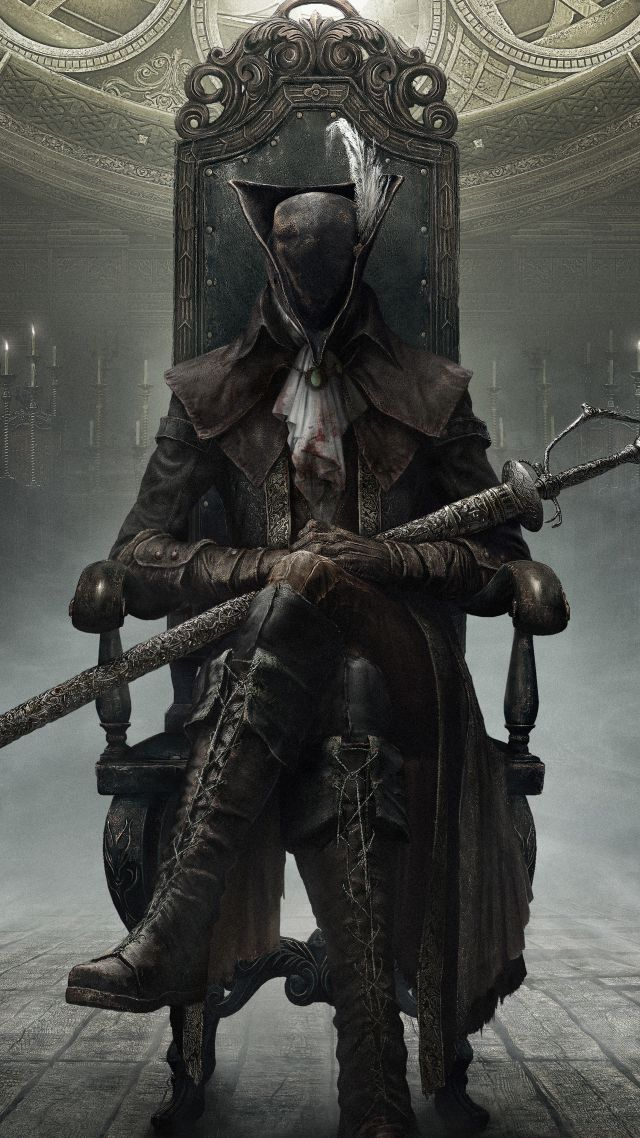 Wallpaper Bloodborne The Old Hunters Hunter Action