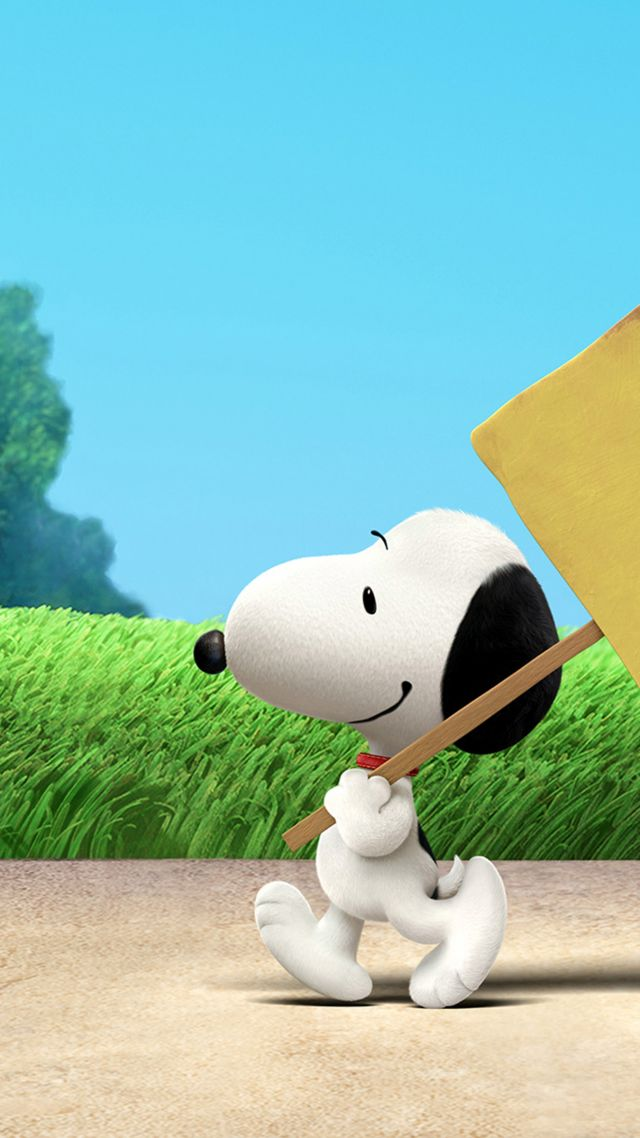 Wallpaper The Peanuts Movie, Snoopy