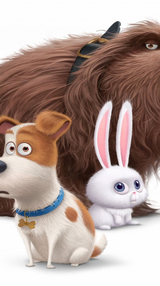 The Secret Life of Pets, Best Animation Movies of 2016, cartoon (vertical)