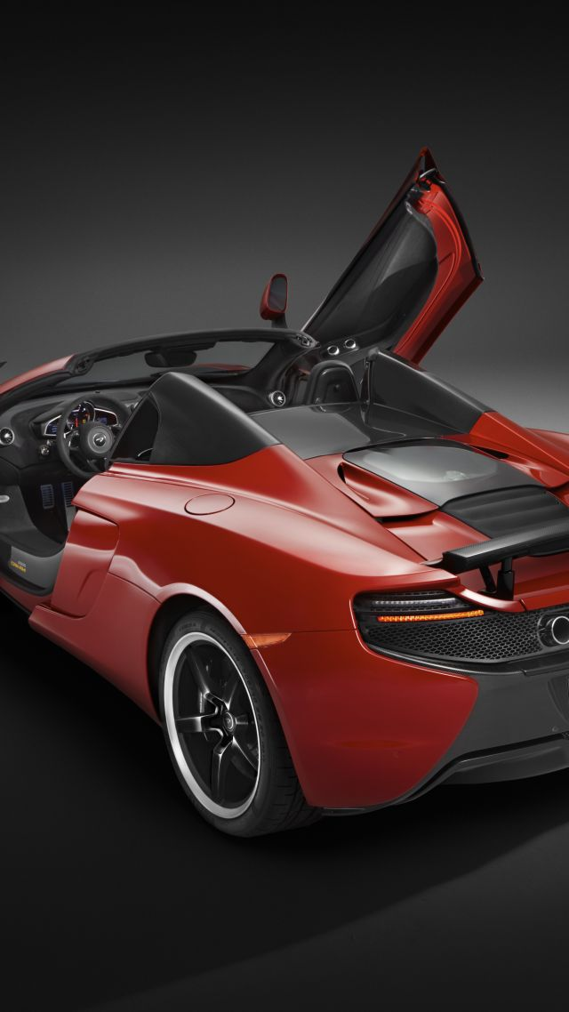 Wallpaper Mclaren 650s Spider Supercar Mclaren Red