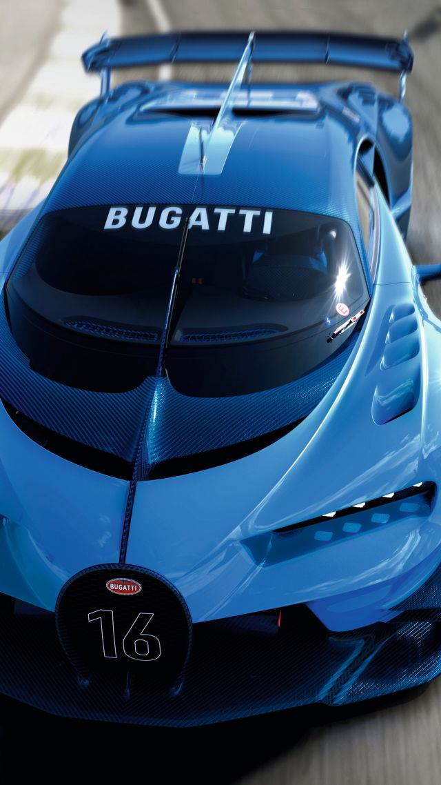 Wallpaper Bugatti Vision Gran Turismo, Bugatti, Grand Sport, sport on