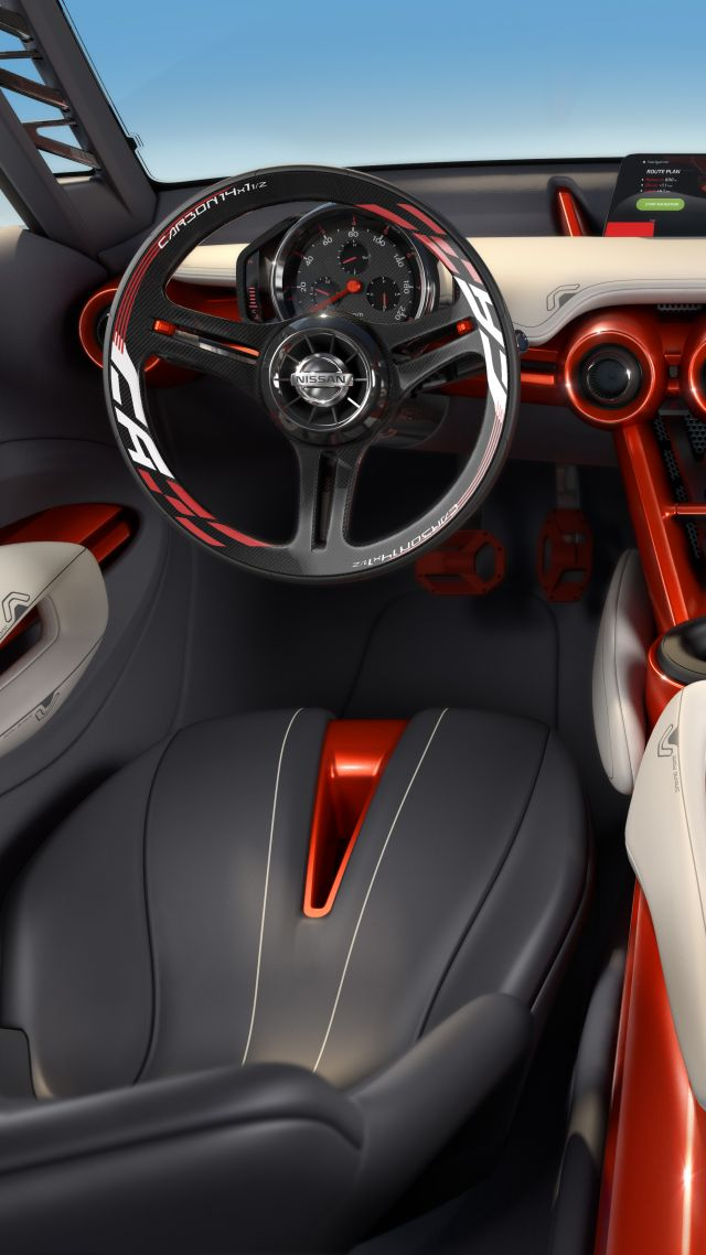 wallpaper nissan gripz concept interior cars bikes 7331. Black Bedroom Furniture Sets. Home Design Ideas