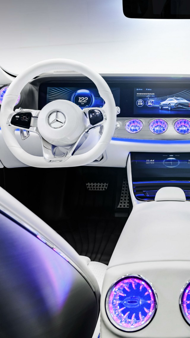 wallpaper mercedes benz iaa concept car interior silver frankfurt 2015 cars bikes 7372. Black Bedroom Furniture Sets. Home Design Ideas