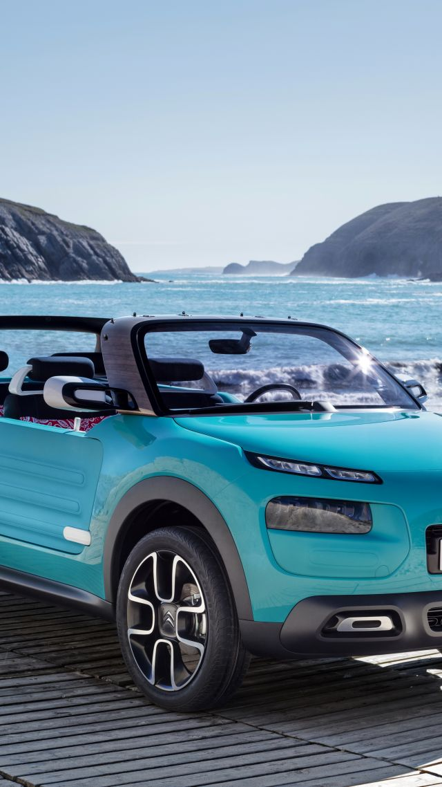 Citroen Cactus M, hybrid, city car, crossover, 2015 car, concept, supercar, luxury cars, sports car, cars of 2016 (vertical)