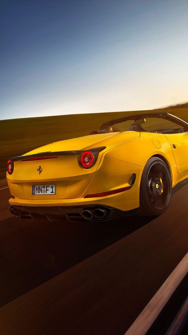 Ferrari California T Novitec Rosso Yellow Vertical