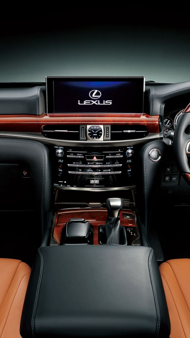 Wallpaper Lexus Lx 570 Interior Lexus Black Test Cars Bikes 7454