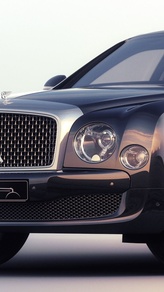 Bentley Mulsanne, luxury cars, Bentley, Flying B, metallic, leather, test, Frankfurt 2015 (vertical)