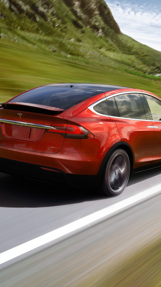 Wallpaper Tesla Model X P90D, electric cars, suv, 2016 ...