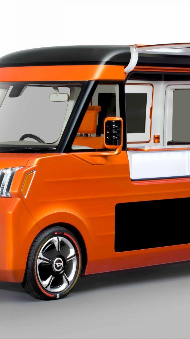 ... Daihatsu Tempo, Concept, future car, Tokyo Motor Show (vertical)