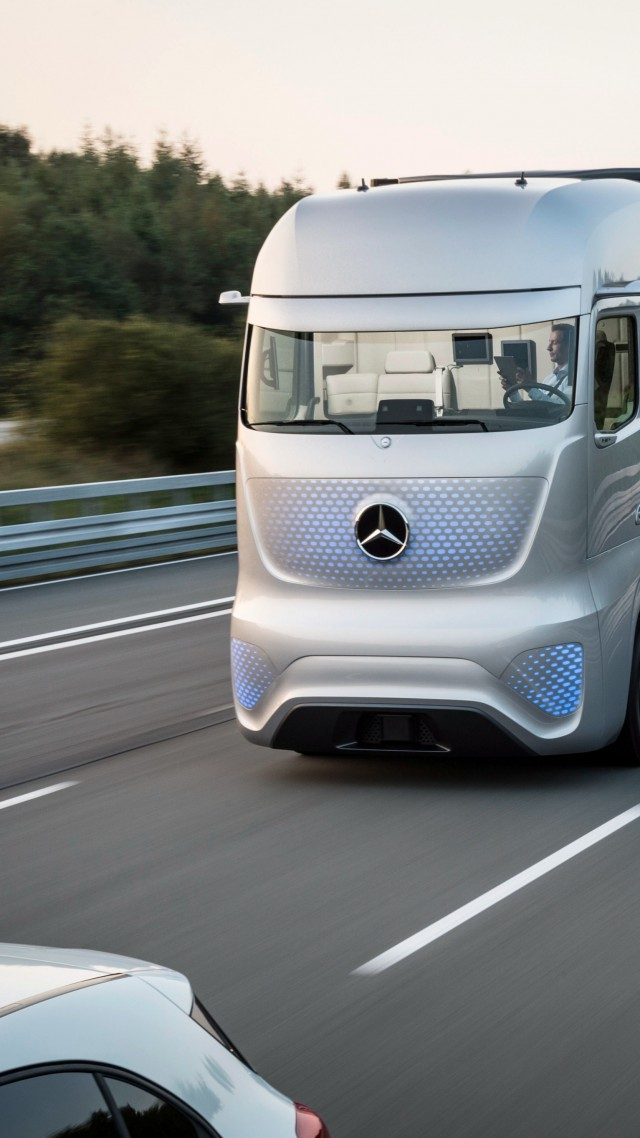 Wallpaper Mercedes Benz Future Truck 2025 Future Cars
