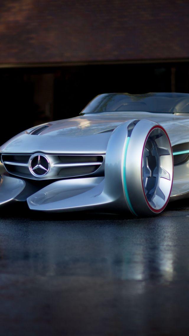 Wallpaper Mercedes Benz Silver Arrow Future Cars Cars