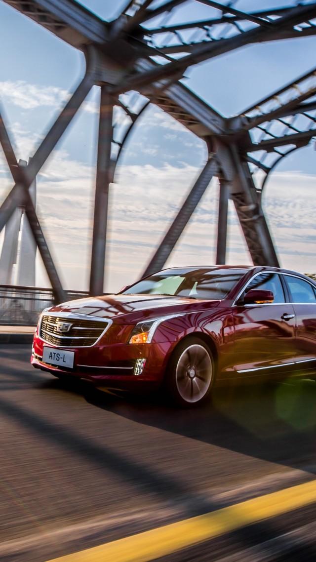 Wallpaper Cadillac Ats L Concept Red Sports Car Cars