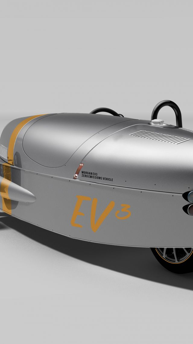 Morgan EV3, electric, sport car, wheeler, review, test drive (vertical)