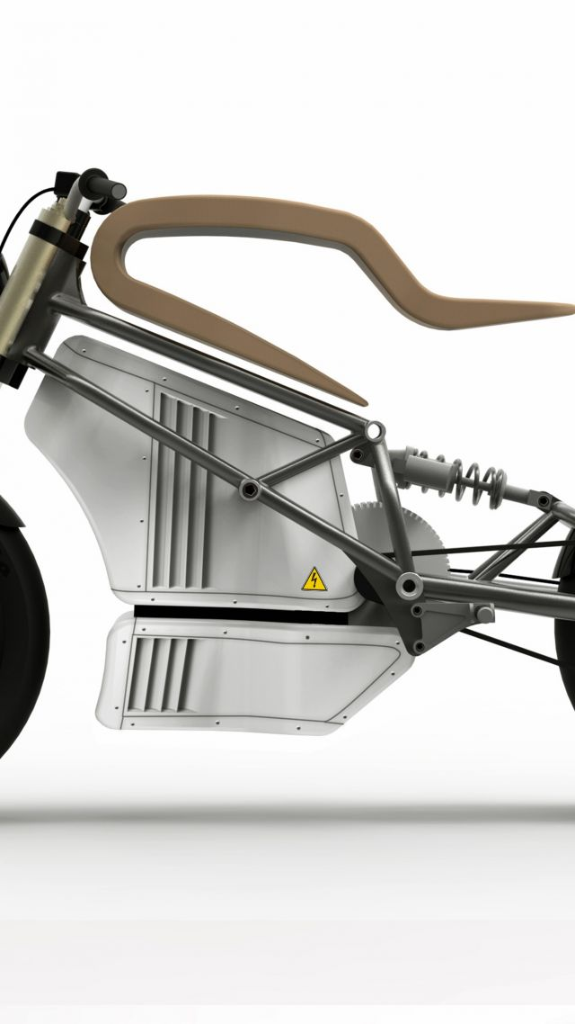 E-Raw, electric, motorcycle, racer, motorcycles of future (vertical)