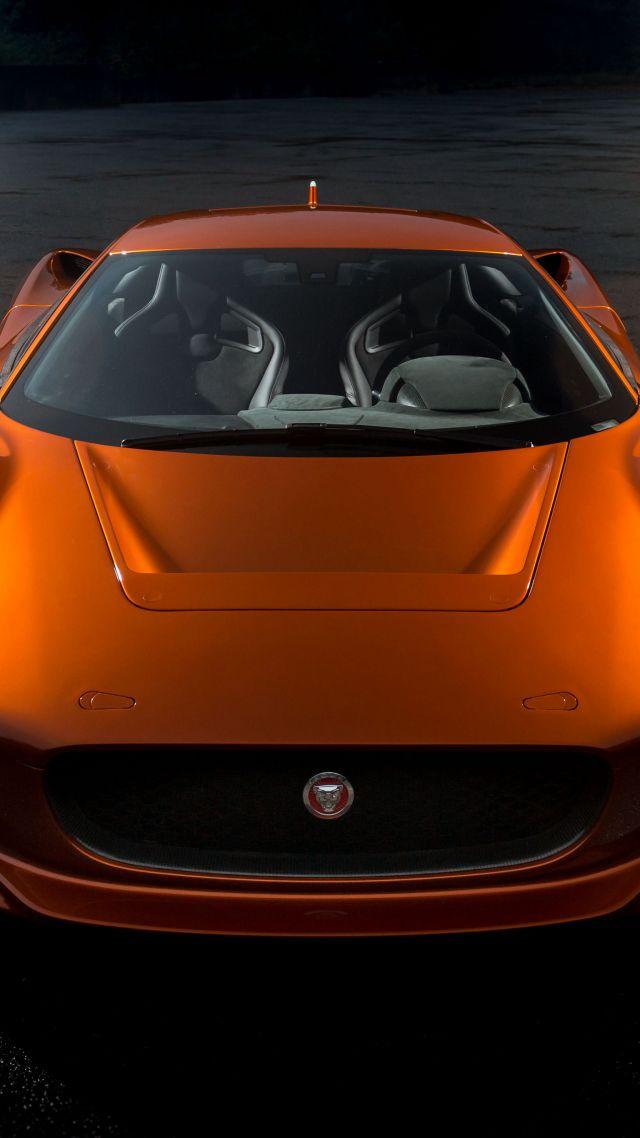 Wallpaper Jaguar C X75 007 Spectre James Bond Orange Spectre