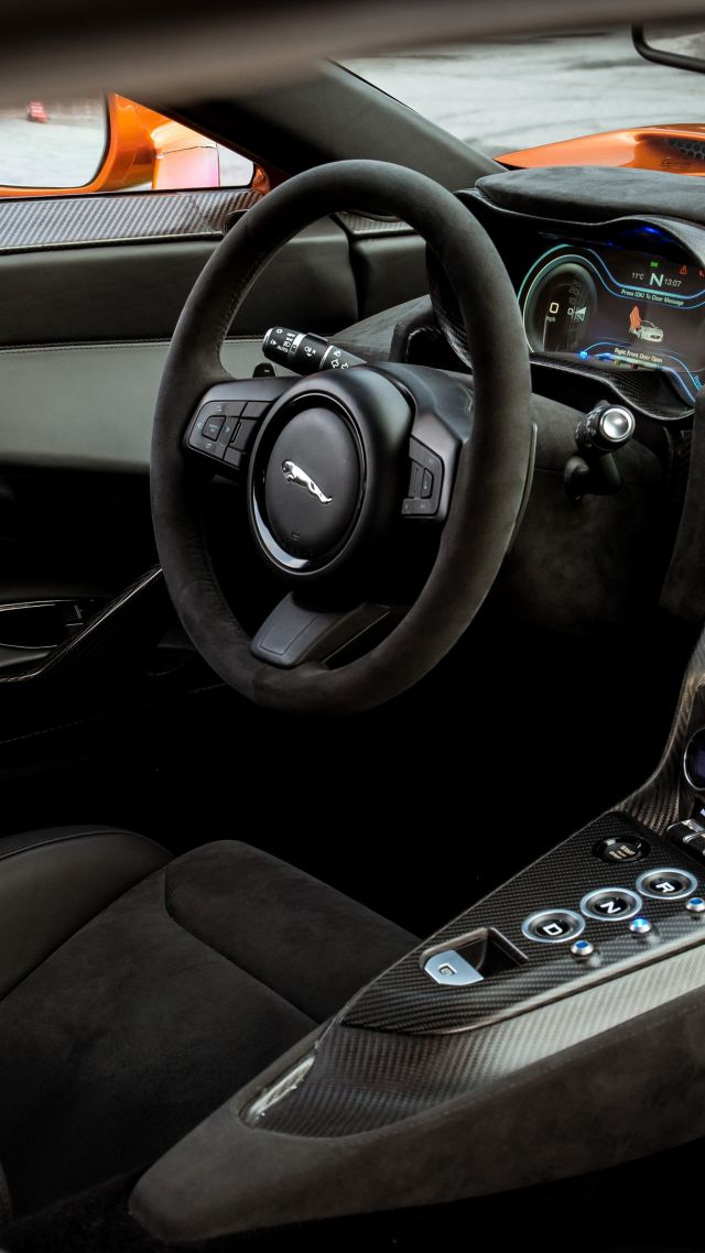 Wallpaper Jaguar C X75 007 Spectre James Bond Interior
