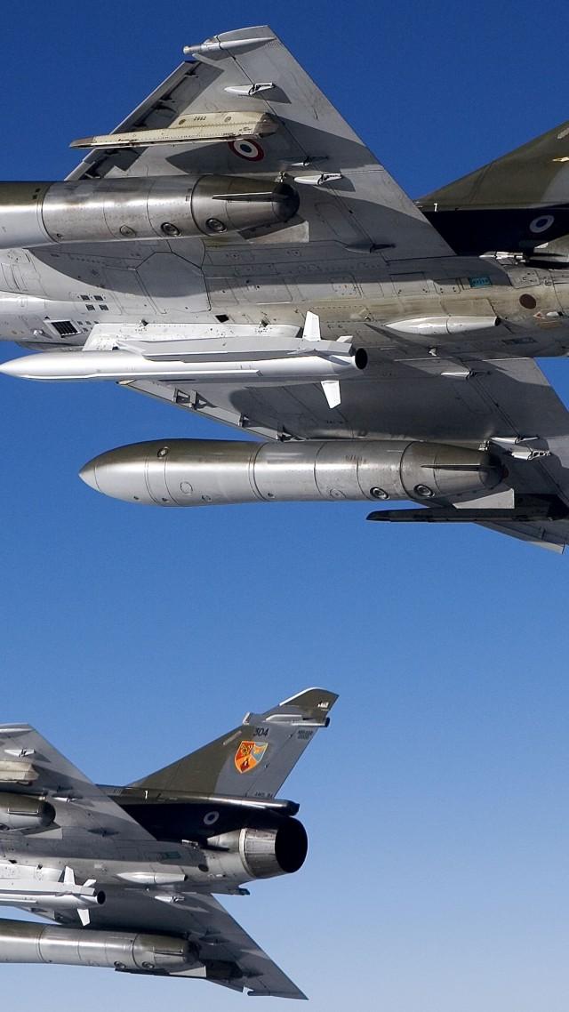 wallpaper mirage 2000 attack aircraft france air force france