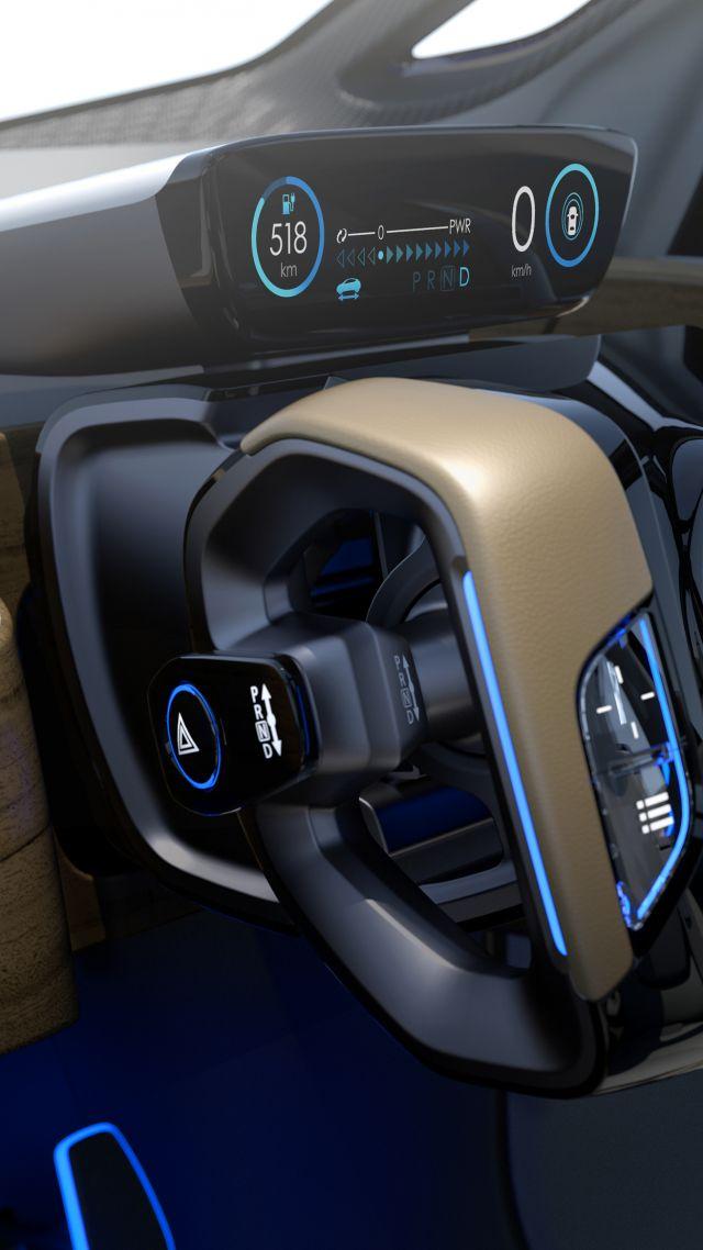 Wallpaper Nissan Ids Concept Interior Luxury Cars