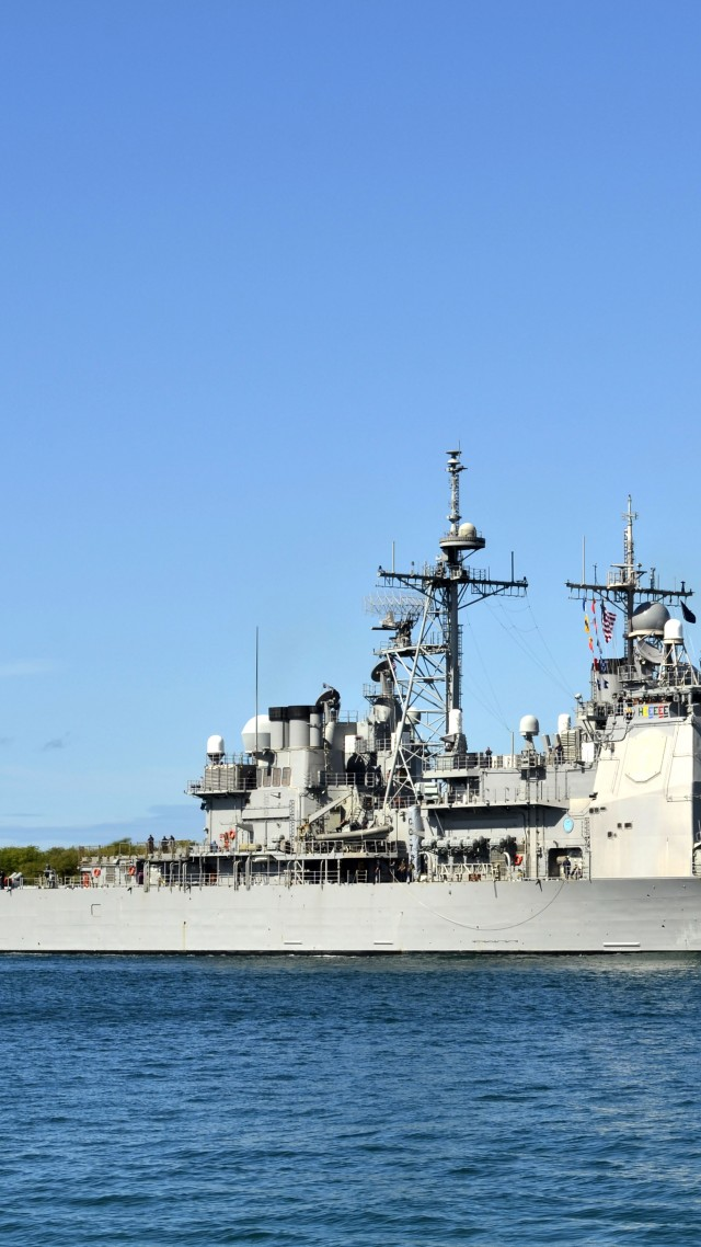USS Lake Erie, CG-70, cruiser, USA Navy (vertical)