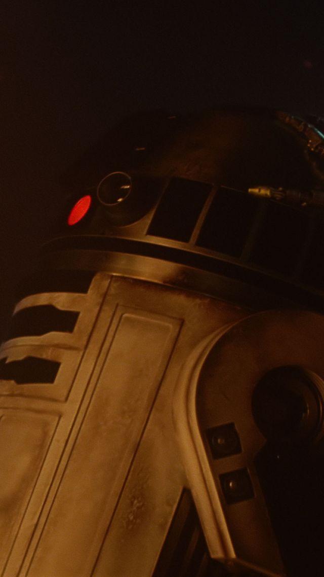 Wallpaper Star Wars Episode Vii The Force Awakens Robot
