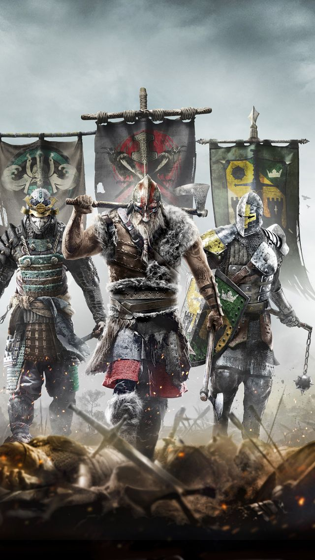 For Honor, BestGames, game, PC, PS4, Xbox One (vertical)