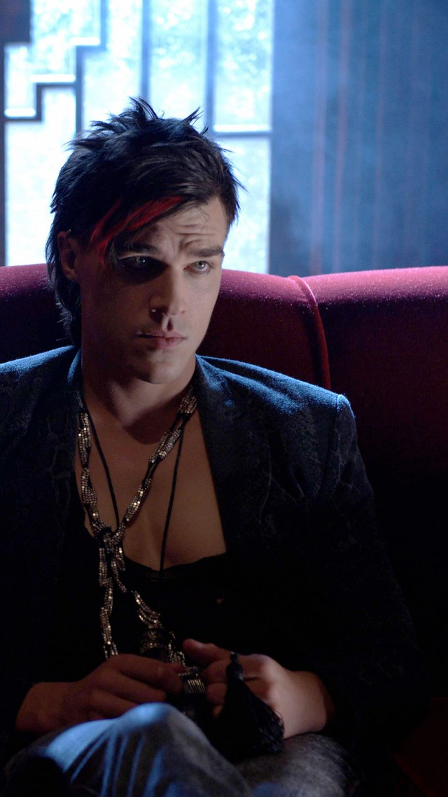 American Horror Story Hotel, Best TV series, season 5, Finn Wittrock (vertical)
